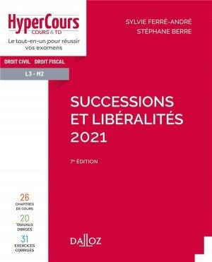 Successions et libéralités - dalloz - 9782247199327 -
