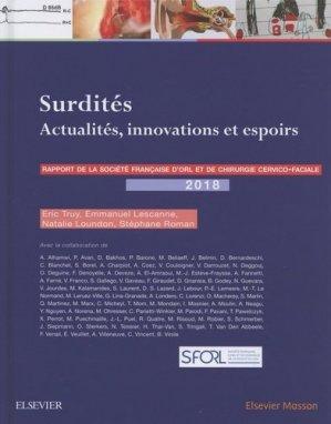 Surdités - elsevier / masson - 9782294761317