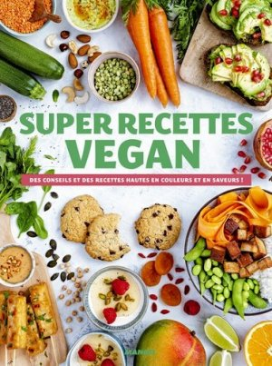 Super recettes vegan - mango - 9782317023910 -