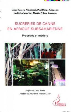 Sucreries de canne en Afrique subsaharienne - l'harmattan - 9782343045641 -