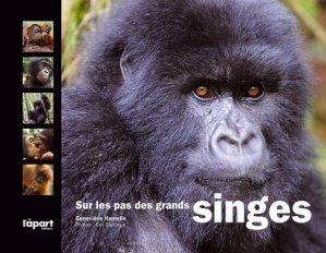 Sur les pas des grands singes - l'apart - 9782360351251 -