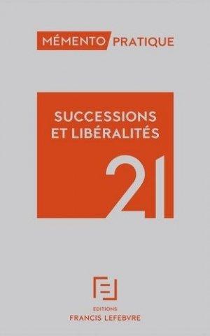 Succession et libéralités - Francis Lefebvre - 9782368935217 -