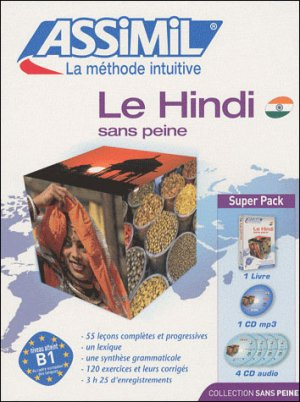 Super Pack - Le Hindi - Débutants et Faux-débutants - assimil - 9782700580143 -