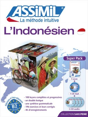 Super Pack - L'Indonésien - Débutants et Faux-débutants - assimil - 9782700580358
