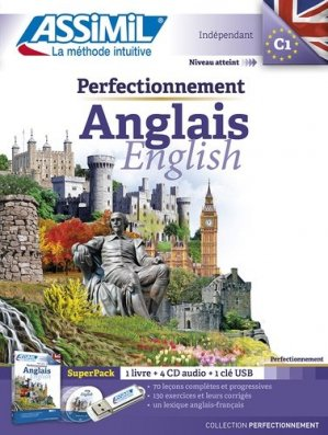 Super Pack Assimil - Perfectionnement Anglais - English - Confirmés - assimil - 9782700580839 -