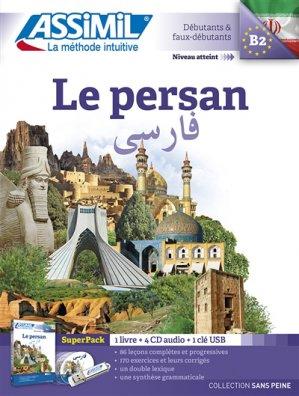 Super Pack - Le Persan - Débutants et Faux-débutants - assimil - 9782700580884 -