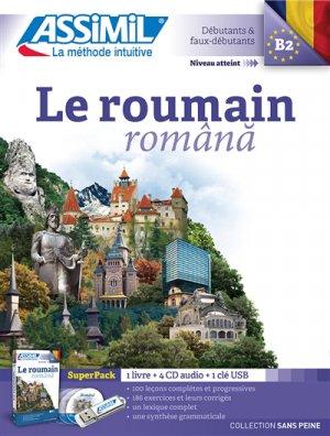 Super Pack - Le Roumain - Rômana - Débutants et Faux-débutants - assimil - 9782700581041