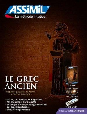 Superpack USB grec ancien - assimil - 9782700581256 -