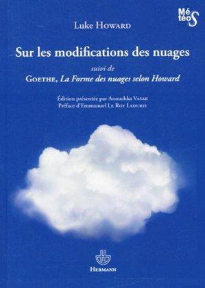 Sur les modifications des nuages - Suivi de La Forme des nuages selon Howard - hermann - 9782705682088 -