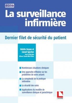 Surveillance infirmière - lamarre - 9782757309902 -