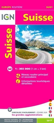 Suisse. 1/303 000 - Institut Géographique National - 9782758540281 -