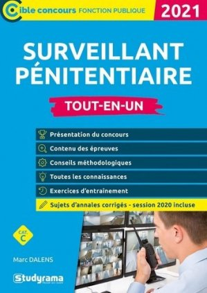 Surveillant pénitentiaire - studyrama - 9782759044924 -