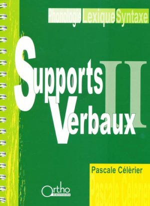 Supports verbaux 2 - ortho  - 9782914121149