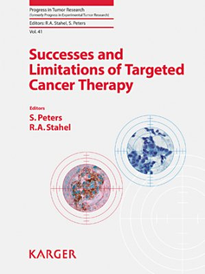 Successes and Limitations of Targeted Cancer Therapy - karger  - 9783318025415 -