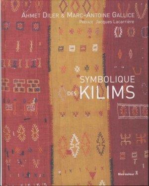 Symbolique des kilims - bleu autour - 9782358480871 -