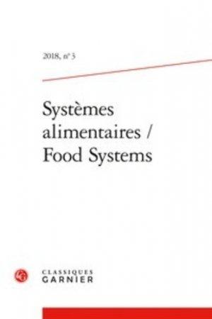 Systèmes alimentaires - editions classiques garnier - 9782406087212 -