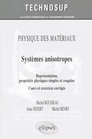 Systèmes anisotropes - ellipses - 9782729875398 -