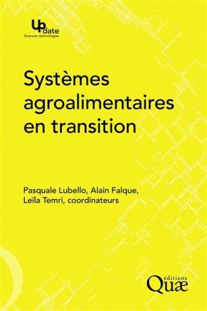 Systèmes agroalimentaires en transition - quae - 9782759225736