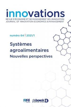 systemes agroalimentaires - Nouvelles perspectives - de boeck superieur - 9782807394520 -