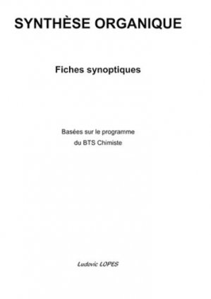Synthèse organique - Books on Demand Editions - 9782810619566 -