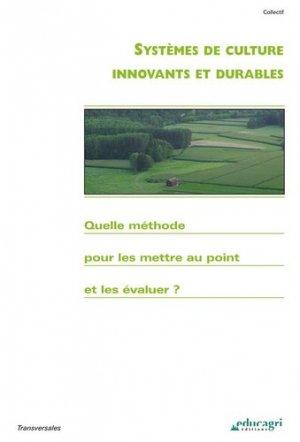 Systèmes de culture innovants et durables - Educagri - 9782844446855 -