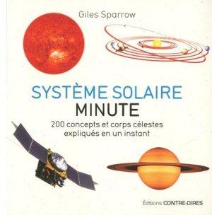Système solaire minute - contre dires - 9782849335314 -