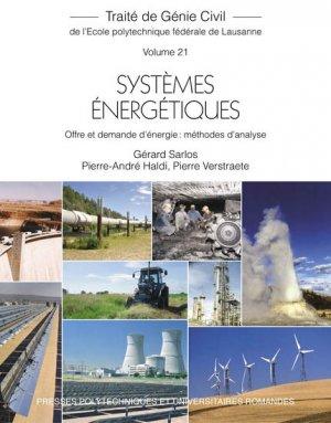 Systèmes énergétiques (TGC volume 21) - presses polytechniques et universitaires romandes - 9782880744649 -