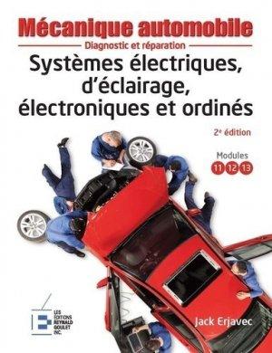 Systèmes électriques, d'éclairage, électroniques et ordinés - Reynald Goulet - 9782893774244 -