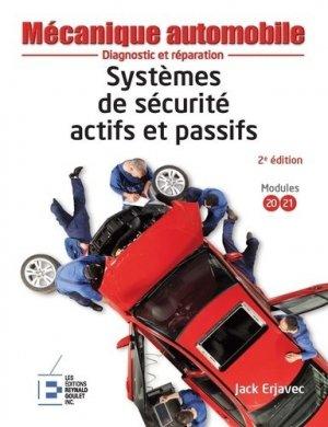 Systèmes de sécurité actifs et passifs - Reynald Goulet - 9782893774589 -