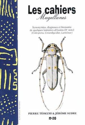 Synonymies, diagnoses et blonomies de quelques lamiaires africains (9eme Note) - magellanes - 9782911545306 -
