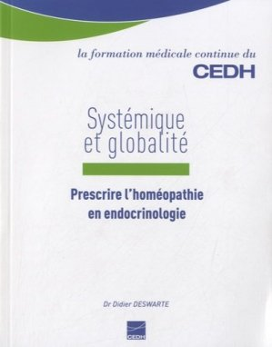 Systémique et Globalité - cedh - 9782915668674