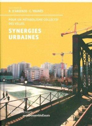 Synergies urbaines - metispresses - 9782940563357 -