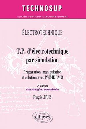 T.P. d'électrotechnique par simulation - ellipses - 9782729864965 -