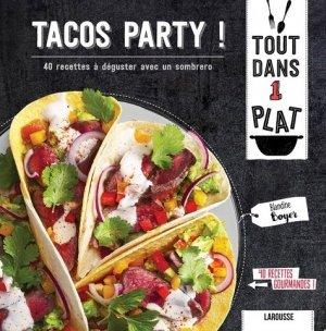 Tacos party ! - Larousse - 9782035955081 -