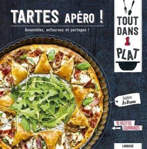 Tartes apéro - Larousse - 9782035967251 -