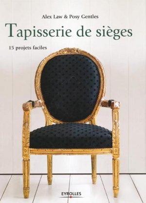 Tapisserie de sièges - eyrolles - 9782212123548 -