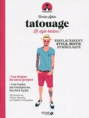 Tatouage - Solar - 9782263150661 -
