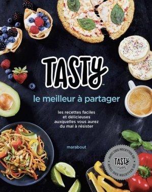Tasty le meilleur à partager - Marabout - 9782501125284 -