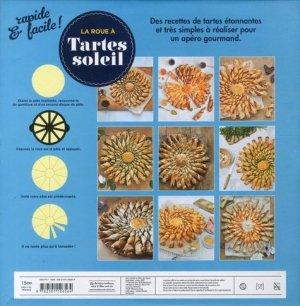 Tartes soleil. Coffret livre + roue + pinceau - Marabout - 9782501126564 -