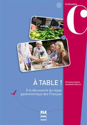 A table ! - PUG - 9782706125096 -