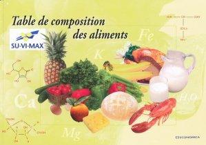 Table de composition des aliments - economica anthropos - 9782717850529 -