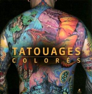 Tatouages colorés - place des victoires - 9782809907094 -