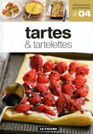 Tartes & tartelettes - le figaro - 9782810503643 -