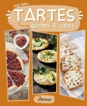 Tartes, quiches & cakes - artemis - 9782816014600 -