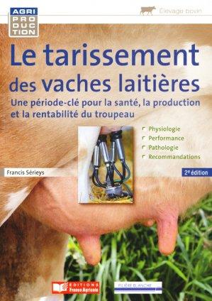 Tarissement de la vache laitière - france agricole - 9782855572727