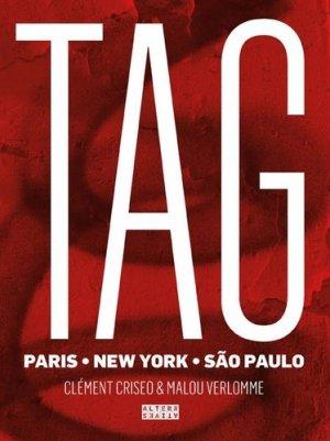 Tags. Paris, New York, São Paulo - Editions Alternatives - 9782862277783 -