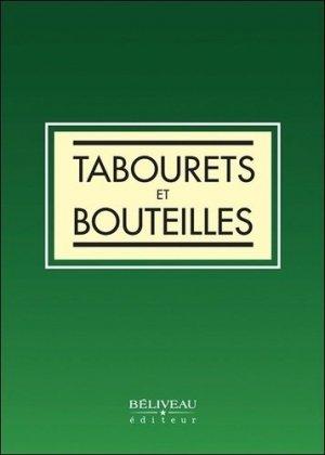 Tabourets et bouteilles - beliveau - 9782890929449 -