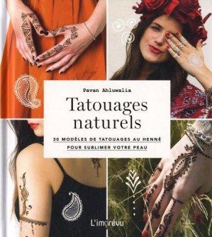 Tatouages naturels - de l'imprevu - 9791029505980 -