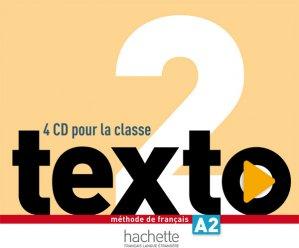 Texto 2 : CD audio classe (x4) - hachette français langue etrangère - 3095561961713 -
