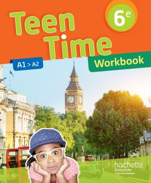TEEN TIME CYCLE 3/6E WORKBOOK  - HACHETTE - 9782014627275 -